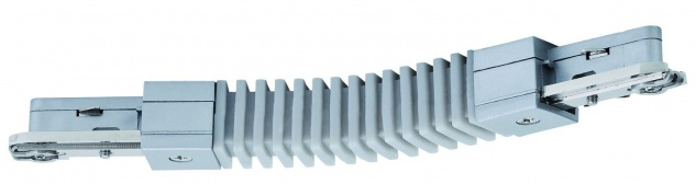 Paulmann URail Schienensystem Light&Easy Flex Verbinder 180mm Chrom matt 230V Metall
