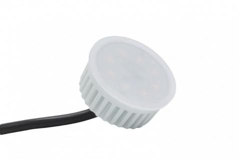 LED Einbauleuchte Eisen Gebürstet 5W 3000K 230V Modul flache Einbautiefe 35mm - Vorschau 4