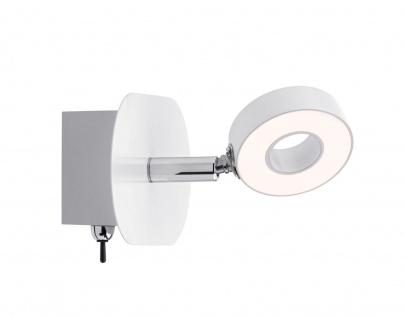 Paulmann 603.69 Spotlight Cycle LED 1x4, 3W Weiß/Chrom 230V Metall