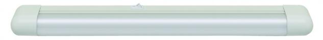 Function Slimline Schmalformleuchte 1x15W G13 Weiß 230V Metall/Kunststoff
