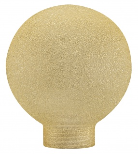 Paulmann 875.60 Glas Globe 60 Minihalogen Eiskristall Bernstein