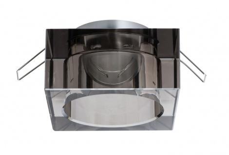 Paulmann 926.08 2Easy Premium Einbauleuchte 3er Spot-Set Cristal starr 51mm Rauchglas/Glas