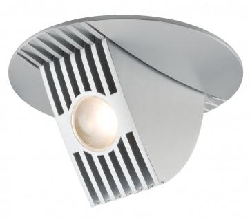 Paulmann Premium Einbauleuchte Set Bow LED kippbar 65° 1x13W 230V/700mA 120mm Chrom matt/Alu
