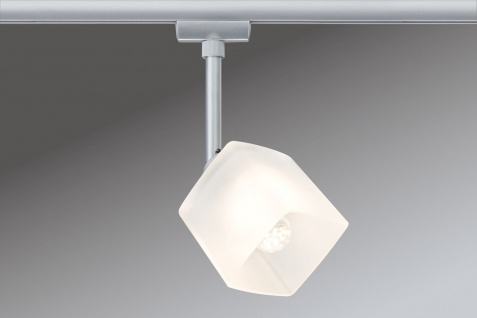 Paulmann URail Syst. Light&Easy LED Spot Quad 1x3W GU10 Chrom matt/Weiß 230V Metall/Glas - Vorschau 2