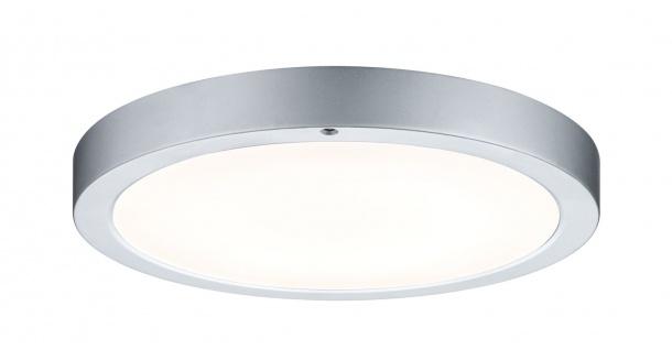 Paulmann 704.33 WallCeiling Smooth LED-Panel 300mm 11W 230V Chrom matt/Weiß Metall/Kunststoff