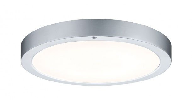 WallCeiling Smooth LED-Panel 300mm 11W 230V Chrom matt/Weiß Metall/Kunststoff