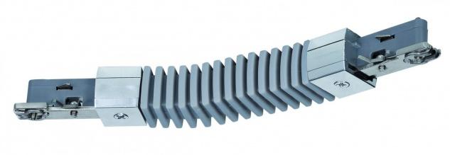 Paulmann URail Schienensystem Light&Easy Flex-Verbinder Chrom 230V Metall