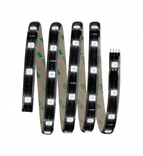 Paulmann Function YourLED Basisset 1, 5m RGB 14, 4W 230/12V 18VA Schwarz Kunststoff