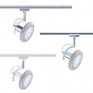 96845. LED Paulmann U-Rail Einzelteile URail System warm weiß Spot Roncalli 1x12W GU10 Titan 230V Metall