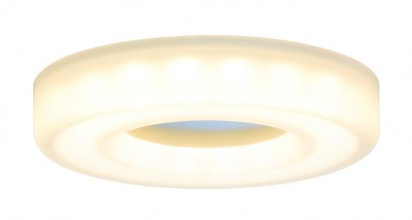 Paulmann 927.04 Premium Einbauleuchte Set Bagel rund LED 3x5, 5W 18VA 230V/350mA 110mm Satin/Alu Acryl/Alu
