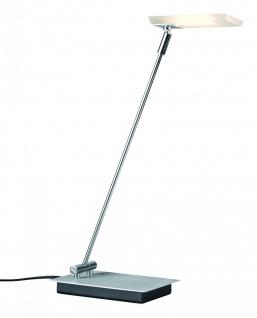 Table&Desk Slice LED Schreibtischl 4, 3W Satin/Alu gebürstet 230/12V Acryl/Metall