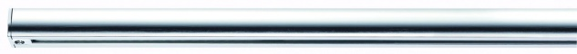 968.64 Paulmann U-Rail Einzelteile URail System Light&Easy Schiene 0, 5m Chrom 230V Metall