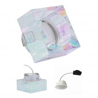 Einbauleuchte 5, 5W 3000K Warmweiss 230V 400lm Dichroic inkl. austauschbare LED Modul geringe Einbautiefe