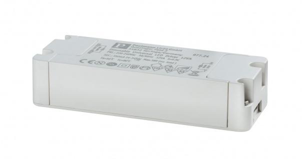 Paulmann 977.24 LED Trafo Transformator Konstantstrom 350mA 12W dimmbar Weiß