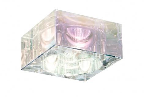 Paulmann Premium Einbauleuchte Set Cristal Quadro 3x35W 230V GU10 51mm Dichroic/Glas