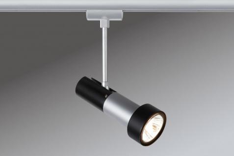 Paulmann URail Schienensystem Light&Easy Spot Klingsor 1x50W GU10 Chrom matt/Schwarz 230V Metall - Vorschau 2