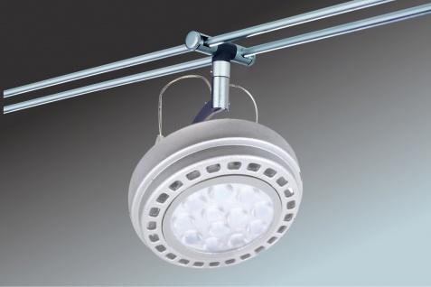 Paulmann LED Schienensystem Wasabi inkl. Mili LED Leuchtmittel 6x 12W AR111 G53 Chrom matt Warm weiss - Vorschau 3
