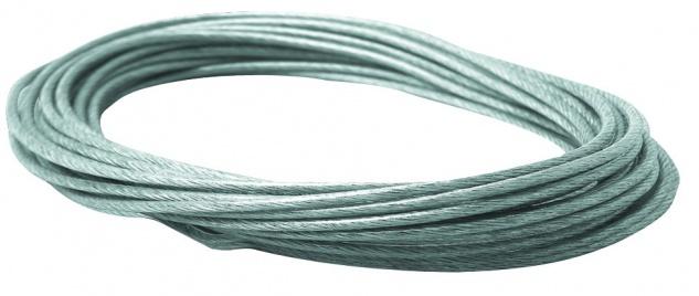 Paulmann Wire System L&E Sicherheits-Spannseil isoliert 8m 4qmm Klar