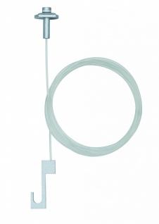 ULine System L&E Galeria Bild-Aufhängung 2er Pack Transparent Metall/Kunststoff