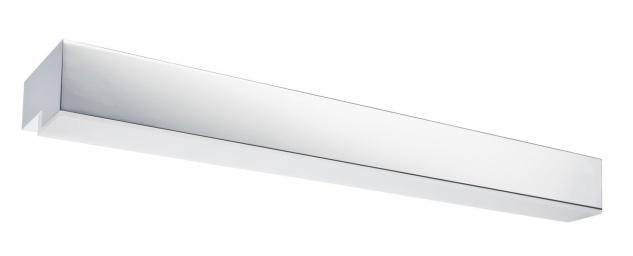 Paulmann 703.66 WallCeiling Taru IP44 14W G5 575mm Chrom/Weiß 230V Metall/Acryl