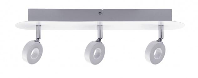 Paulmann Spotlight Cycle LED 3x4, 3W Weiß/Chrom 230V Metall - Vorschau 2