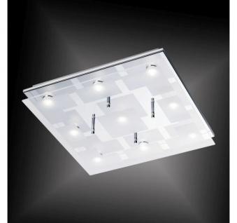 6110-17 Paul Neuhaus CHIRON Deckenleuchte, chrom 29, 7W LED 12V IP20