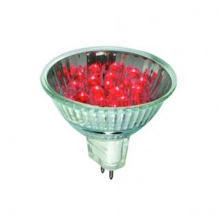 28002.10 Paulmann 12V Fassung 10 Stück LED Reflektor 20° 1W GU5, 3 12V 51mm Rot
