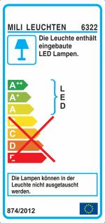 20W LED Slim Fluter Neutralweiß 4000 Kelvin 1800 Lumen Außenleuchte Strahler - Vorschau 2