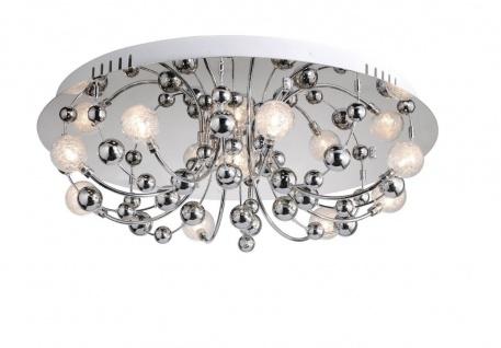 6088-17 Paul Neuhaus GENNA Deckenleuchte Deckenlampe 9x20W G4 12V chrom - Vorschau 1