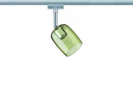 Paulmann URail Schienensystem Spot Blossom max. 1x25W G9 Chrom matt/Gelb transparent 230V Metall/Glas