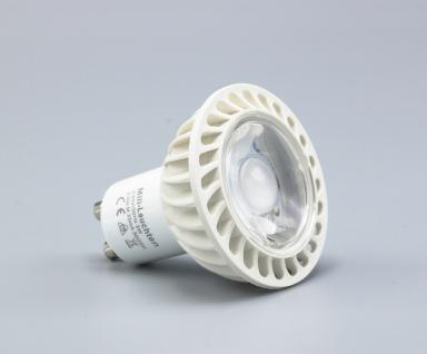 LED Leuchtmittel 3W GU10 4000K Neutralweiss 230V 240lm Klar - Vorschau 2