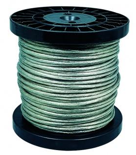 Paulmann Wire System L&E Sicherheits-Spannseil isoliert 100m 4qmm Klar