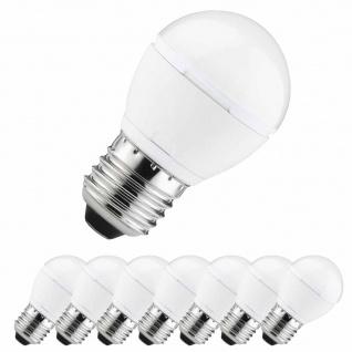 8x Paulmann E27 Fassung 28165 LED Quality Tropfen 5W E27 230V Warmweiß