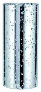 Paulmann Living 2Easy Midi Zylindro Sparkling klar/Silber - Glas