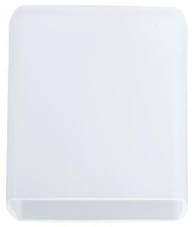 Paulmann 600.15 DecoSystems Lampenschirm Quad max.50W Glas Weiß