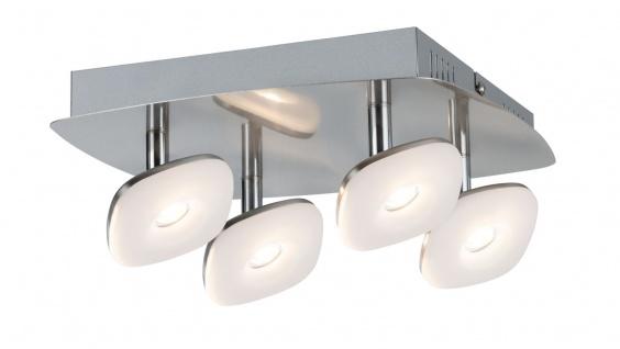 Paulmann 666.53 Spotlight Squarelense 4x3, 2W Nickel 230V Metall/Acryl