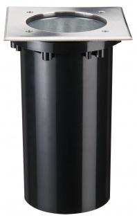 Paulmann 937.49 Special Einbauleuchte IP67 Boden eckig max. 20W 230V E27 175x175mm Edelstahl/Metall