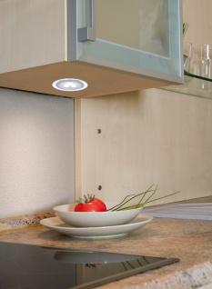 Paulmann Möbel Einbauleuchte Set Deco LED 3x3W 9VA 230V/350mA 100mm Chrom matt/Acryl/ Metall - Vorschau 2