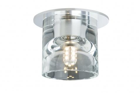 Paulmann Quality Einbauleuchte Set Glassy Tube LED 3x1W 3, 6VA 230/12V G4 Ø83mm Klar/Chrom Glas/Metall - Vorschau 2