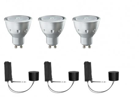 Paulmann 2Easy Einbauleuchte Basis-Set LED 3x3, 5W 230V GU10 51mm