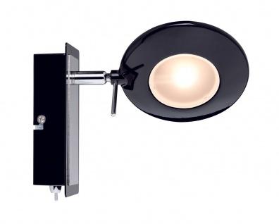 Paulmann 602.47 Spotlight Orb Balken 1x3W Schwarz Chrom 230V Metall
