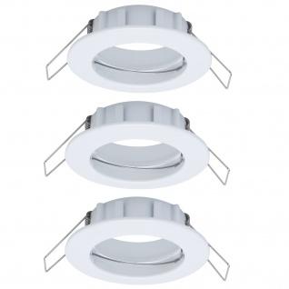 Paulmann 997.39 2easy Premium Einbauleuchte 3er Spot-Set IP44 starr 51mm Weiß
