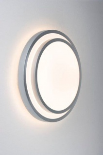 Paulmann 700.32 WallCeiling Stepino 40W T5 446mm Silber/Weiß 230V Metall/Acryl