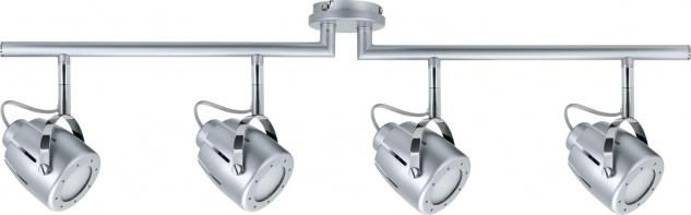 Paulmann Spotlights Mega Balken 4x11W GU10 Chrom matt 230V Metall