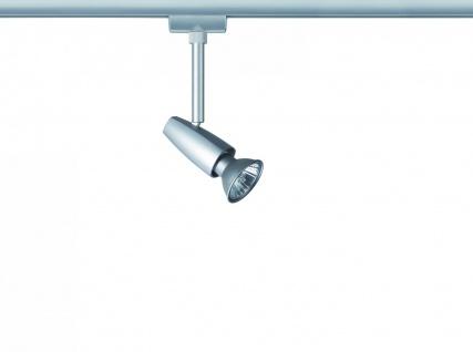 Paulmann URail Schienensystem Light&Easy Spot Barelli 1x50W GU10 Titan 230V Metall