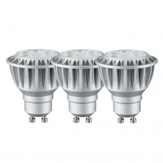 3er Pack Paulmann 926.81.3.LED 2700K Premium Einbauleuchte Daz rund schwenkbar 8W LED 230V GU10 Weiß m./Schw. dimmbar - Vorschau 3