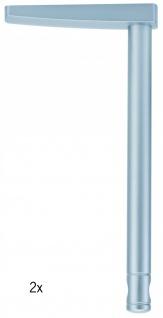 Paulmann Wire System Light&Easy Umlenker/Abhängung 1 Paar 170mm Chrom matt Metall
