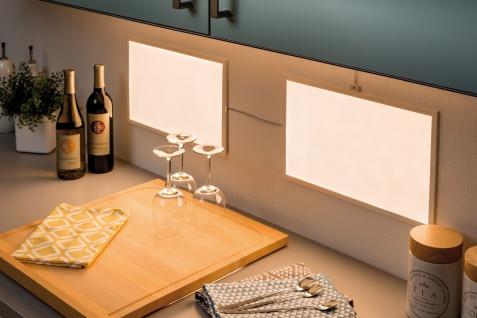 Paulmann Function Glow LED-Panel 1er BasicSet Dif 25x40cm 8W 230/24V 24VA Weiß satiniert Metall/Kunststoff