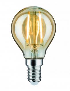 Paulmann LED Tropfen 2, 5W E14 230V Gold 2500K