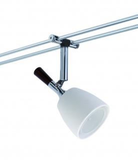 Paulmann Seil- und Schienensystem 2Easy Spot Mix 5x20W GU5, 3 Chrom/Keramik 12V Alu/Keramik - Vorschau 4